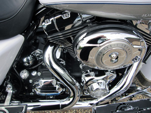 Harley Davidson V Twin Engine